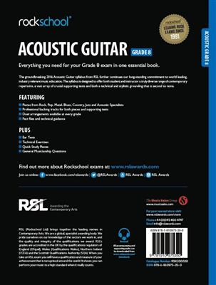 Rockschool: Rockschool Acoustic Guitar - Grade 8 (2016)