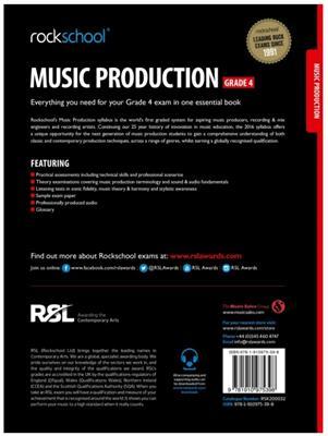 Rockschool Music Production - Grade 4 (2016): Books on Music