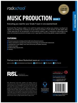Rockschool Music Production - Grade 7 (2016): Books on Music