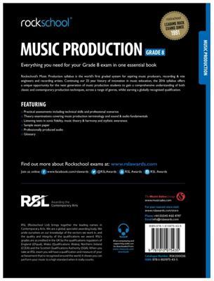 Rockschool Music Production - Grade 8 (2016): Books on Music