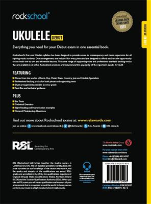 Rockschool Ukulele - Debut (2016+): Ukulele