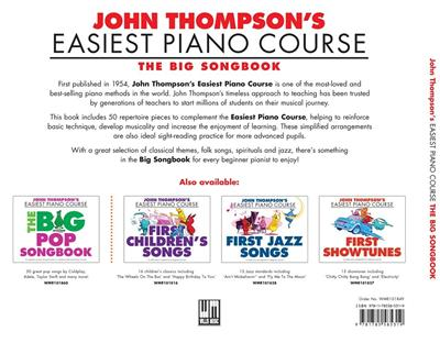 Thompson's Easiest Piano Course: The Big Songbook: Piano or Keyboard
