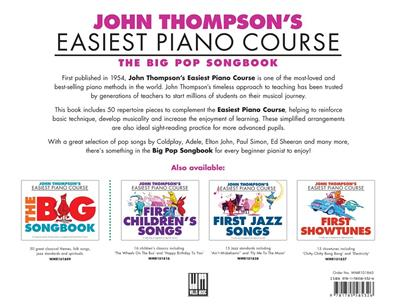 John Thompson's Piano Course: The Big Pop Songbook: Piano or Keyboard