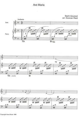 Johann Sebastian Bach: Ave Maria: Alto Saxophone