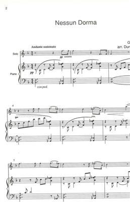 Giacomo Puccini: Nessun Dorma: Alto Saxophone