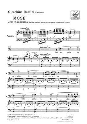 Gioachino Rossini: Dal Tuo Stellato Soglio: Opera