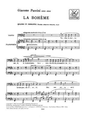 Giacomo Puccini: Vecchia Zimarra, Senti: Opera