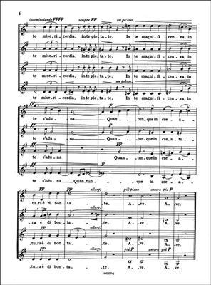 Giuseppe Verdi: Laudi Alla Vergine Maria: SSAA