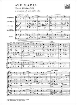 Giuseppe Verdi: 4 Pezzi Sacri: SATB