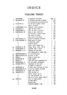 Arie Antiche: 40 Arie Vol. 3: Medium Voice