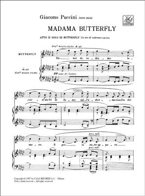 Giacomo Puccini: Madama Butterfly: Un Bel Di' Vedremo: Opera or Operette