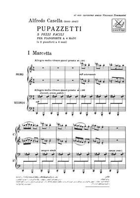 Alfredo Casella: Pupazzetti: Piano Duet