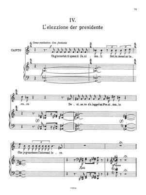 Alfredo Casella: Quattro favole romanesche di Trilussa: Voice
