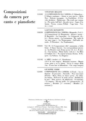 Giuseppe Verdi: Composizioni Da Camera: Soprano