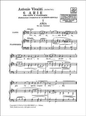 Antonio Vivaldi: 6 Arie: Soprano