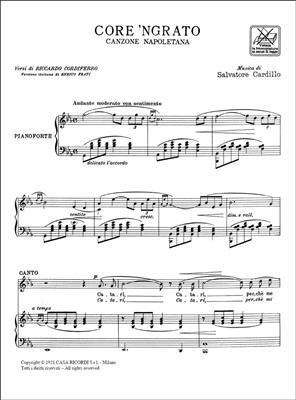 Salvatore Cardillo: Core 'Ngrato: Voice