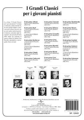 Franz Liszt: Preludio E Fuga In La Min. Bwv 543 Di J. S. Bach: Piano