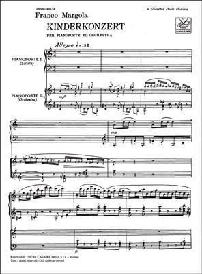 Franco Margola: Kinderkonzert: Piano Duet
