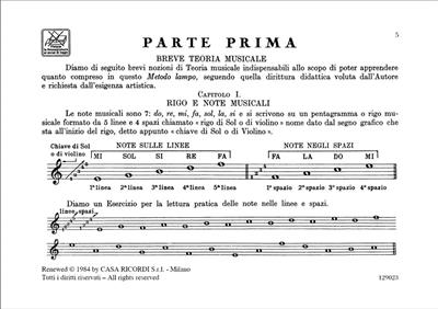 Luigi Oreste Anzaghi: Metodo Lampo Teorico Pratico: Harmonica