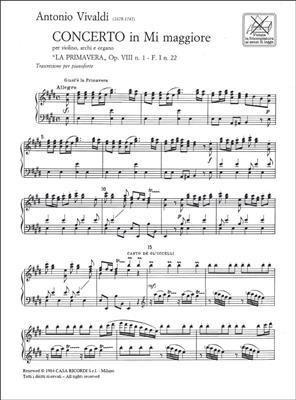 Antonio Vivaldi: Le Quattro Stagioni: Piano