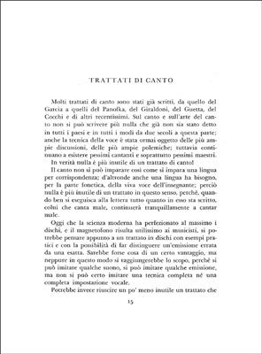 N. Mari: Canto E Voce: Vocal or Choral method