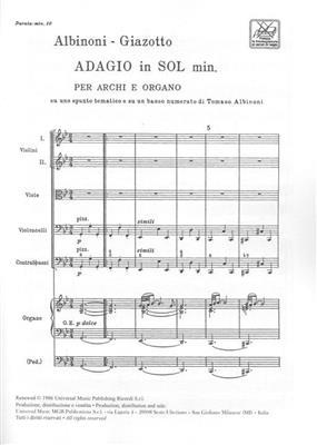 Remo Giazotto: Adagio in sol minore: Chamber Orchestra