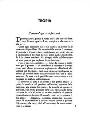 A. Zecchi: Il Direttore Di Coro: Books on Music