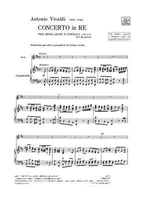 Antonio Vivaldi: Concerto per Oboe, Archi e BC: In Re Rv 453: Oboe Duet