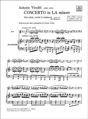 Antonio Vivaldi: Concerto Per Oboe, Archi E BC: In La Min. Rv 461: Oboe Duet