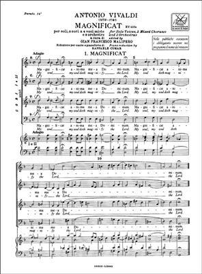 Antonio Vivaldi: Magnificat RV 610a-611: Double Choir