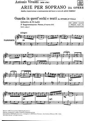 Antonio Vivaldi: Opera Arias For Soprano: Opera