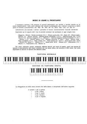F. Chierici: Prontuario Di Tutti Gli Accordi: Piano or Keyboard