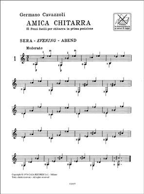 Germano Cavazzoli: Amica Chitarra: Guitar or Lute