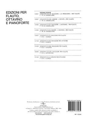 Antonio Vivaldi: Concerto in Sol Minore 'La Notte' Rv 439: Flute