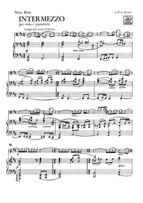 Nino Rota: Intermezzo: Viola