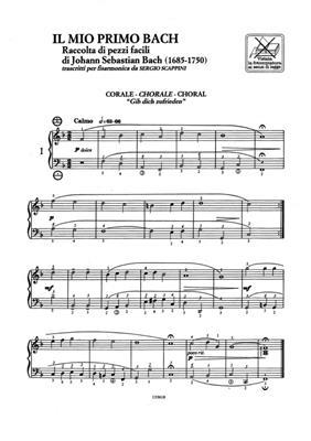 Johann Sebastian Bach: Il Mio Primo Bach Per Fisarmonica: Accordion
