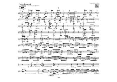 Franco Donatoni: Omar: Vibraphone
