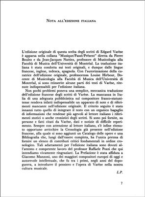 Edgar Varèse: Il Suono Organizzato: Books on Music