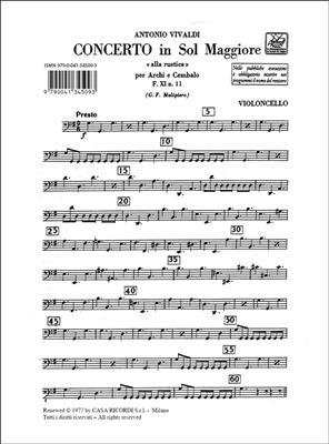 Antonio Vivaldi: Concerto Per Archi E B.C.: In Sol 'Alla Rustica' : String Ensemble