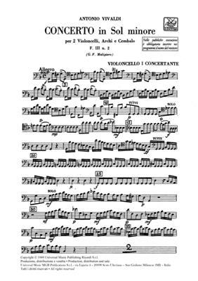 Antonio Vivaldi: Concerto In G Minor F111/2 RV531: Orchestra