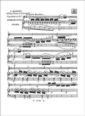 Gioachino Rossini: Fantaisie: Clarinet