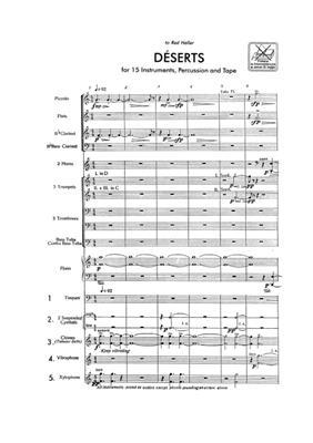 Edgar Varèse: Deserts: Ensemble