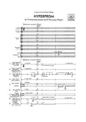 Edgar Varèse: Hyperprism: Ensemble