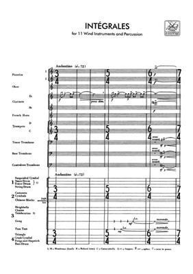 Edgar Varèse: Integrales: Ensemble