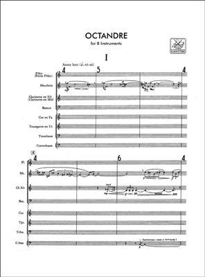 Edgar Varèse: Octandre: Orchestra