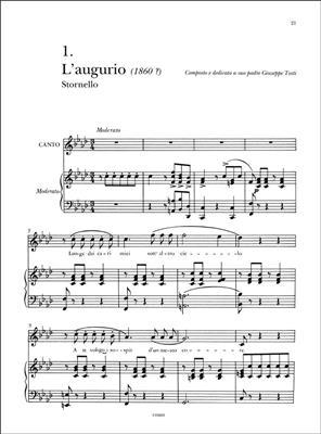 Francesco Paolo Tosti: Romanze Di Ispirazione Abruzzese: Vocal