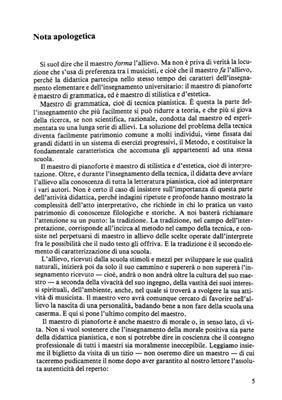 Piero Rattalino: Le Grandi Scuole Pianistiche