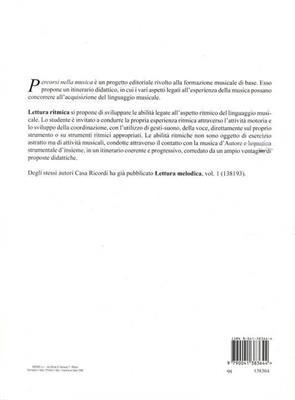 Lettura Ritmica: Books on Music