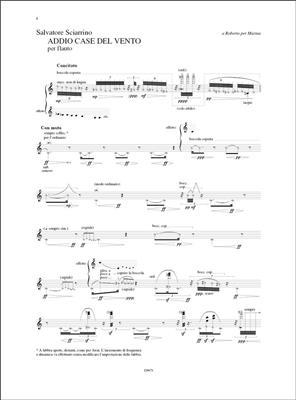 Salvatore Sciarrino: L'Opera Per Flauto 2: Flute