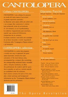 Giacomo Puccini: Cantolopera: Arie Per Soprano Vol. 1: Opera